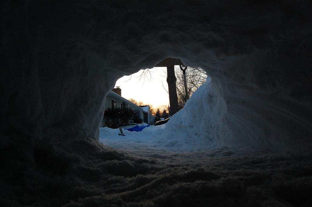 Photo: Snow Cave